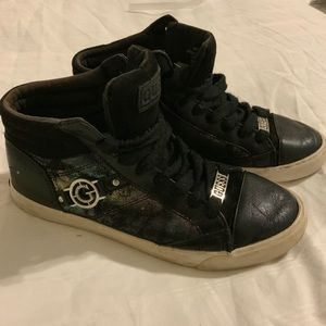 Guess High Top Sneakers Black size 5,5